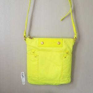 Marc Jacob's crossbody bag neon yellow